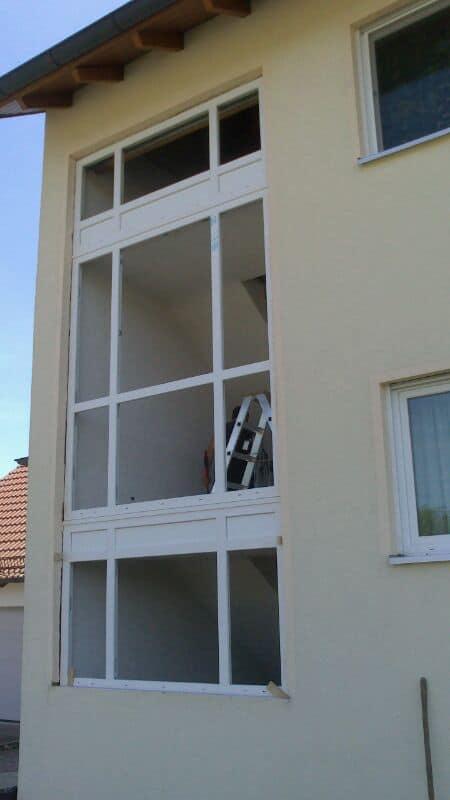 Erlangen glasbausteine durch moderne fenster ersetzt bauelemente meier partner - Glasbausteine durch fenster ersetzen ...